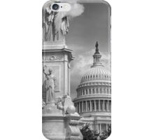 B&W Washington DC iPhone Case/Skin