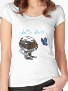 Daily Derps Apparel Women's Fitted Scoop T-Shirt