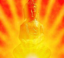 Buddha Sunburst by TexasBarFight