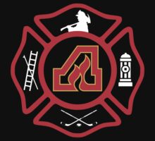Atlanta Fire - Flames style One Piece - Short Sleeve