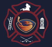 Atlanta Fire - Thrashers style Baby Tee