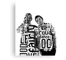Twenty One Pilots- Fairly Local-Typography Canvas Print