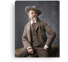 """Buffalo Bill"" 1900 Canvas Print"