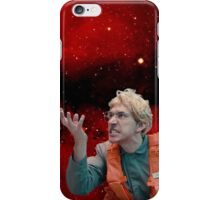 Angry Space Boy iPhone Case/Skin
