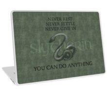 Wisdom for Slytherins Laptop Skin