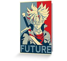 Future Trunks  Greeting Card