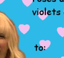 Valentine's Jimmy Fallon Ew Sticker