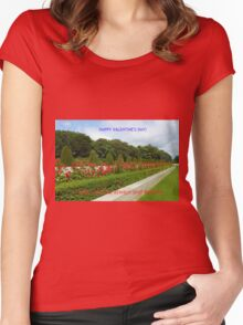 Always and Forever - Valentine Card Women's Fitted Scoop T-Shirt
