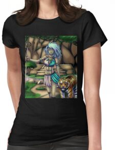 Tribal Girl Womens Fitted T-Shirt