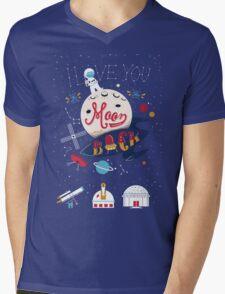 I love you Mens V-Neck T-Shirt