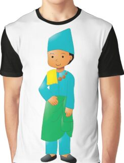 Traveler Kids - Traditional Dress Edition - Malay Riau Graphic T-Shirt