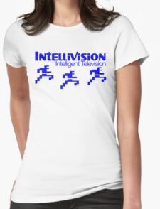 Intellivision Football Womens Fitted T-Shirt