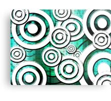 The Eyes Have It - Emerald Dream Version Metal Print