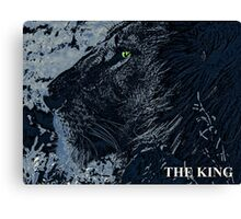The King Blue Canvas Print