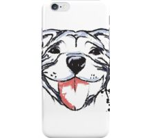 Smiling Staffy  iPhone Case/Skin