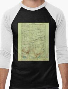 New York NY Churubusco 140504 1915 62500 Men's Baseball ¾ T-Shirt