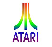 Atari Rainbow Photographic Print