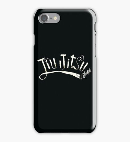 JIUJITSU LIFESTYLE iPhone Case/Skin