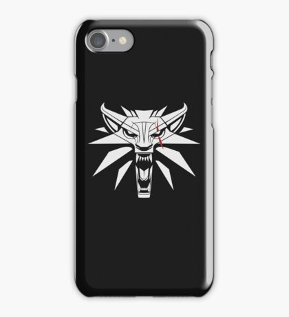 The White Wolf - The Witcher t-shirt / Phone case / Mug 2 iPhone Case/Skin