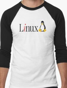 Linux is only free if your time has no value - T-shirt Hoodie Men's Baseball ¾ T-Shirt
