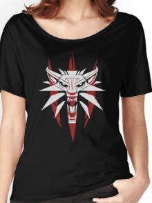 The White Wolf - The Witcher t-shirt / Phone case / Mug 3 Women's Relaxed Fit T-Shirt