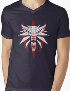 The White Wolf - The Witcher t-shirt / Phone case / Mug 3 Mens V-Neck T-Shirt