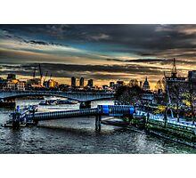Dawn Skyline Photographic Print