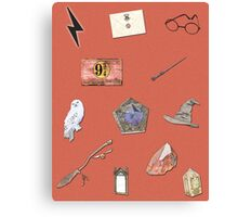 Harry Potter and the Sorcerer's Stone inspired poster Canvas Print