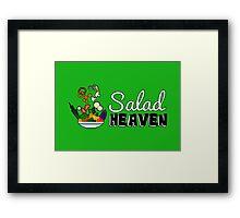 Salad Heaven Framed Print