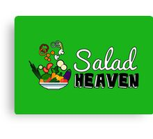 Salad Heaven Canvas Print