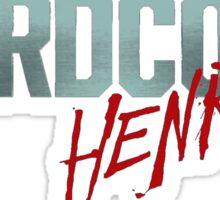 H Henry Sticker