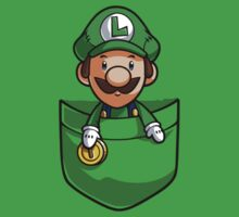 Pocket Luigi by Purrdemonium