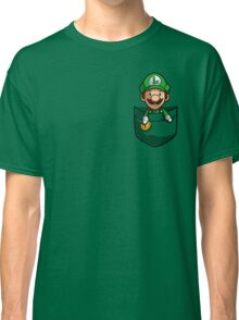 Pocket Luigi Classic T-Shirt