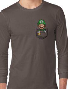 Pocket Luigi Long Sleeve T-Shirt