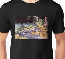 'Ocean Landscape' by Katsushika Hokusai (Reproduction) Unisex T-Shirt