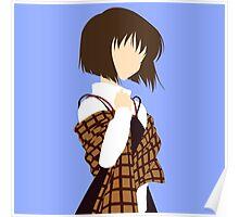 Minimalist Shiori Misaka Poster