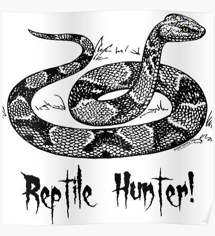 Reptile Hunter! Poster