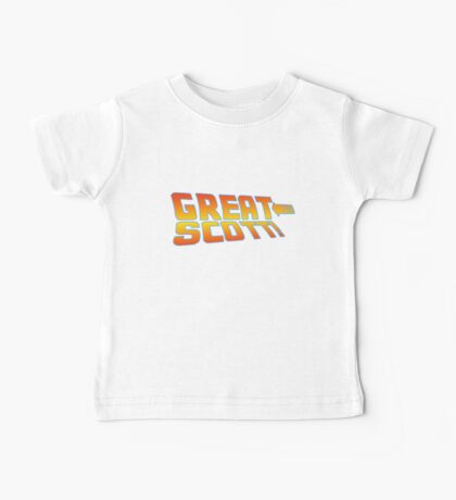 Great Scott! (Back To The Future) Baby Tee