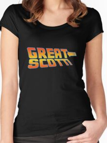 Great Scott! (Back To The Future) Women's Fitted Scoop T-Shirt