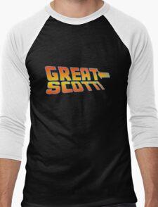 Great Scott! (Back To The Future) Men's Baseball ¾ T-Shirt