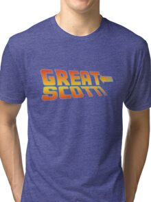 Great Scott! (Back To The Future) Tri-blend T-Shirt
