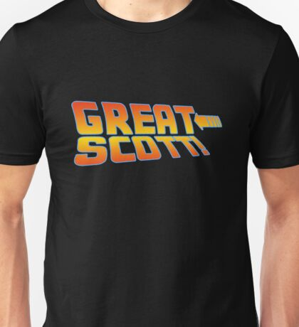 Great Scott! (Back To The Future) Unisex T-Shirt