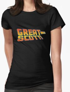 Great Scott! (Back To The Future) Womens Fitted T-Shirt