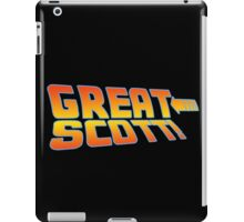 Great Scott! (Back To The Future) iPad Case/Skin
