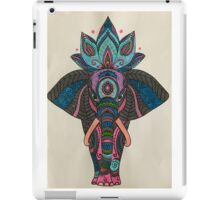 Well dressed elephants iPad Case/Skin