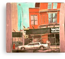 Franklin St Canvas Print