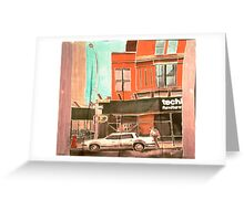 Franklin St Greeting Card