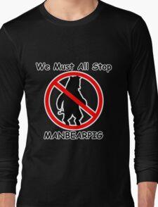 MANBEARPIG (South Park) (Al Gore) Long Sleeve T-Shirt