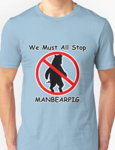 MANBEARPIG (South Park) (Al Gore) T-Shirt