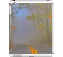 Foggy Morning on the Arkansas Scenic Pig Trail Bypass iPad Case/Skin